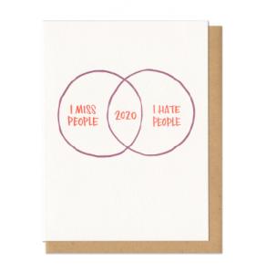 Card Miss People