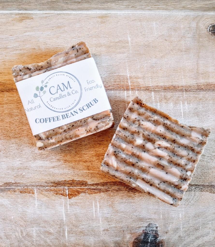 Coffee Bean Scrub Soap