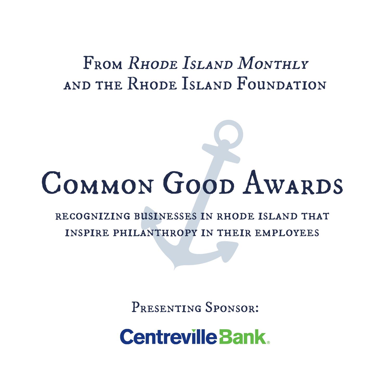 Common Good Awards Sponsor Centreville 5x5