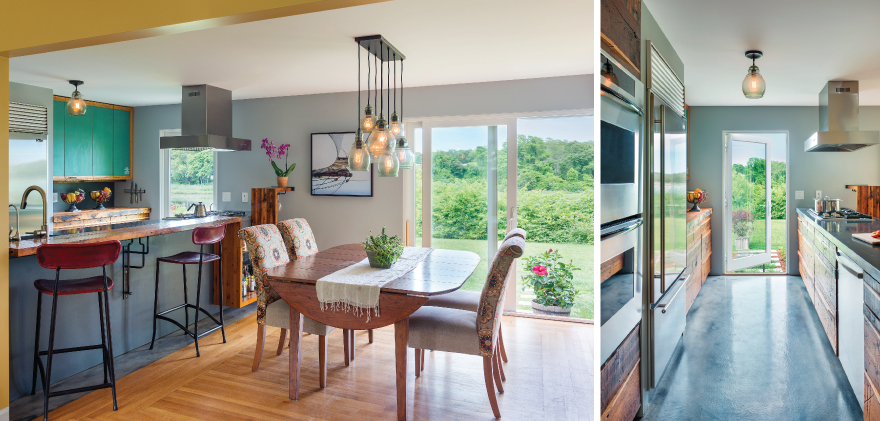 The Salvaged Beauty of an East Providence Ranch House ...